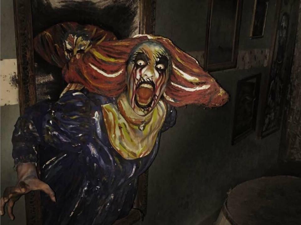 La casa del terror embrujada