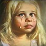 """El aterrador video de """"La niña de la alacena"""""""