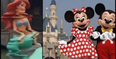 Disneylandia Disneyland Lado Oscuro Leyendas Terror