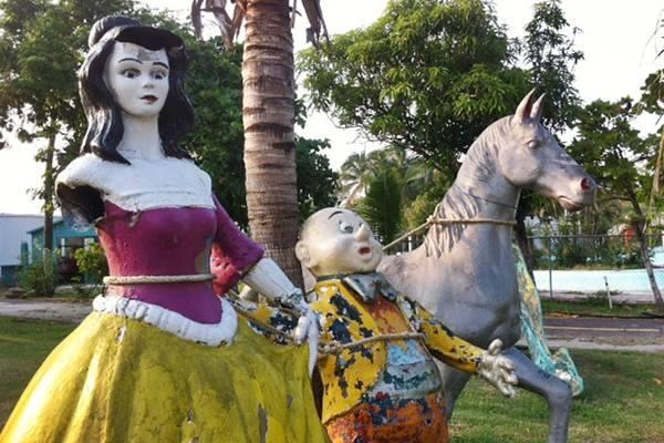 Reino Mágico Veracruz, Leyenda del Parque Encantado