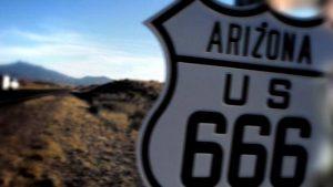 "La antigua ruta 666 ""La carretera del Diablo"""