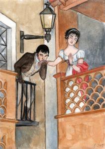 Historia del Callejón del Beso