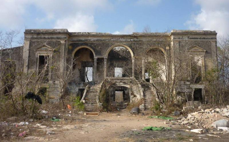 La hacienda embrujada de Cholul