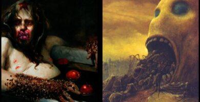 Artistas De Terror Pinturas Macabras