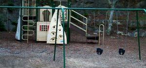 El patio de los niños del panteón