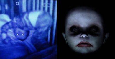 Bebes Monitor Fotografías Fotos Miedo Terror