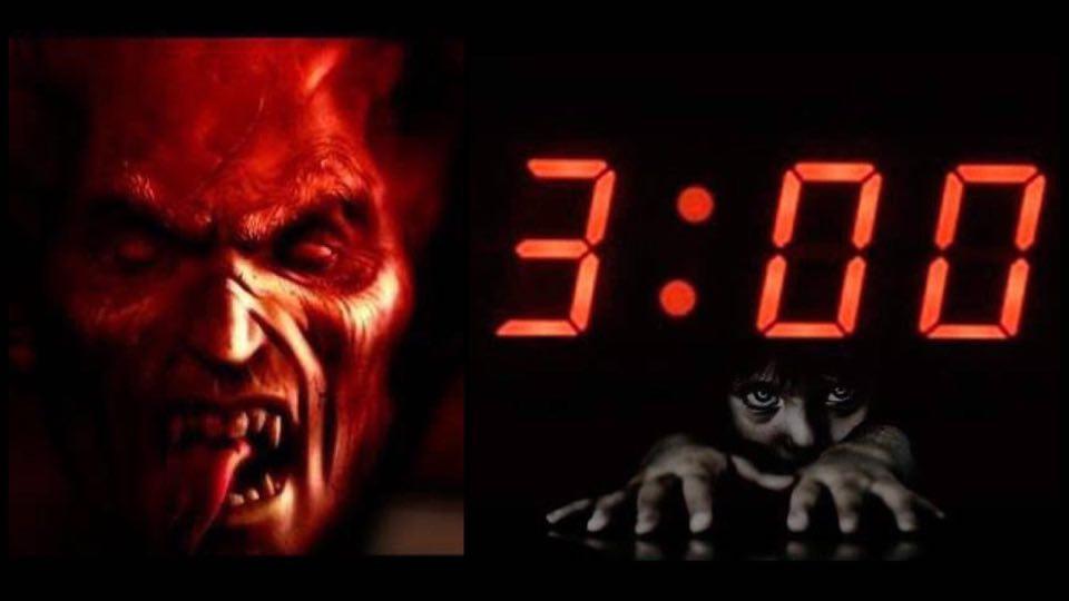 3 00 Am De La Mañana Madrugada La Hora Del Diablo Brujas Paralisis De Sueño