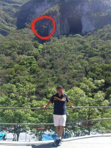 El hombre pájaro en Monterrey