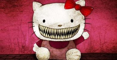 Leyenda De Hello Kitty Oscuro Origen