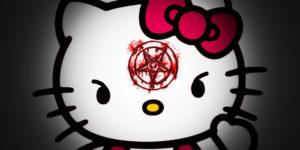 Leyenda De Hello Kitty Oscuro Origen Diablo