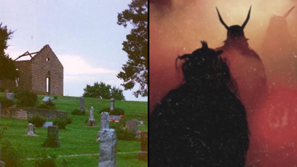 Cementerio Maldito Puertas Del Infierno Stull Kansas