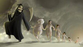 La Muerte Viene De A Tres Leyenda Mito Superstición