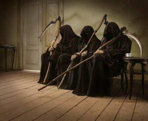 La Muerte Viene De A Tres Leyenda Relato Terror Mito 3