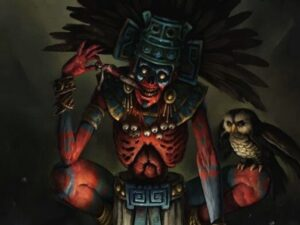 Mictlan Inframundo De Los Mexicas Infierno 9 Niveles Día De Muertos Mictlantecuhtli