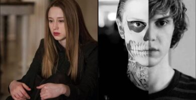 American Horror Story Evan Peters Taissa