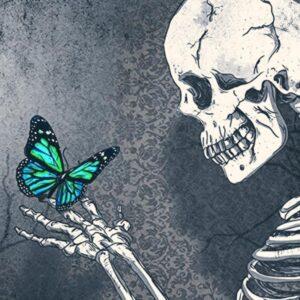 Mariposa Negra De La Muerte Mensajera