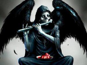 Mariposa Negra Mensajera De La Muerte