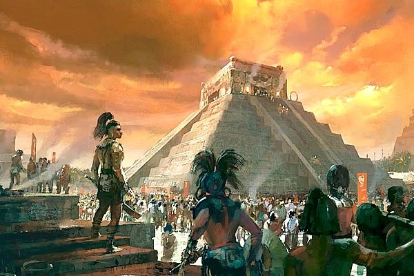 Maya And The Three Serie De Netflix Civilización 5