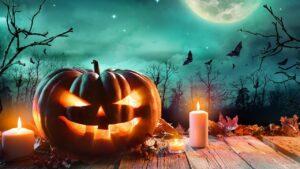 Halloween Luna Azul