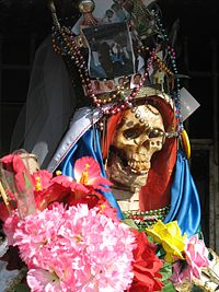 Santa Muerte Quien Es Ella Santa